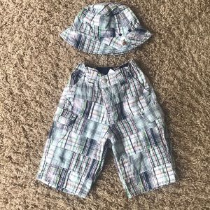 Baby boys Pants and hat